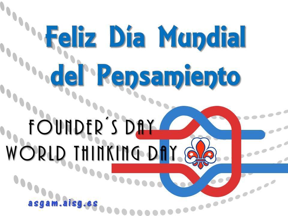 Día Mundial del Pensamiento 2013 en ASGAM. La cronica