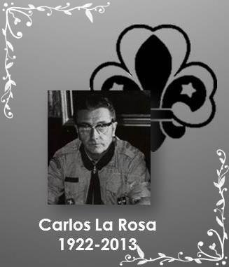 A nuestro hermano Carlos La Rosa: no es más que un hasta luego…