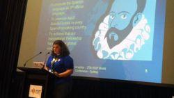 Presentación Proyecto Cervantes en la Conferencia Mundial 2014