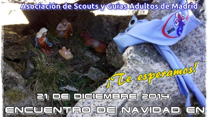 ASGAM celebra su Encuentro de Navidad en la Sierra de Guadarrama
