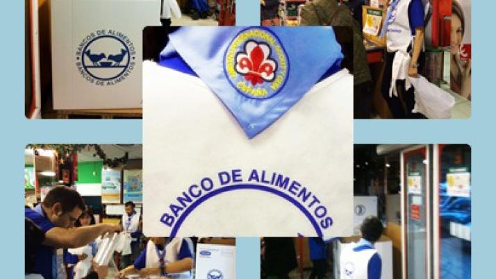 ASGAM participó en la Gran Recogida de Alimentos en Madrid