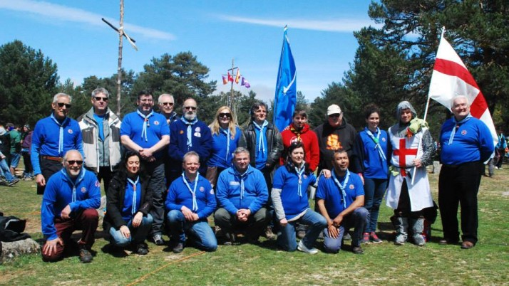 Concentración Scout Peguerinos San Jorge 2015