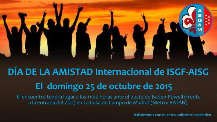 DÍA DE LA AMISTAD Internacional de ISGF-AISG 2015