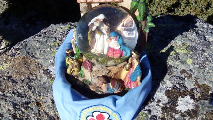 Celebración del encuentro de Navidad en La Pedriza