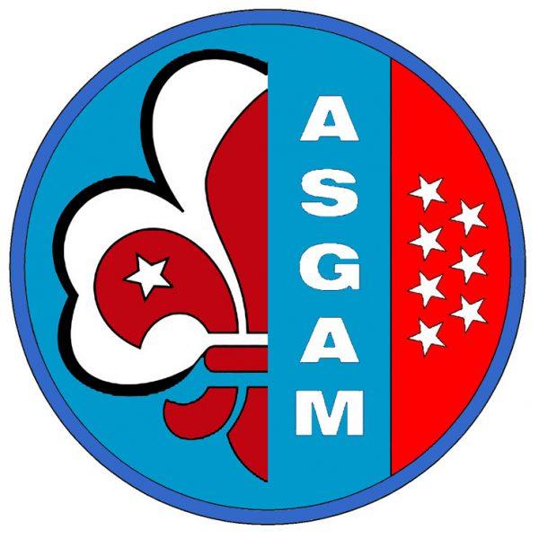 El logo de ASGAM simboliza el Escultismo adulto