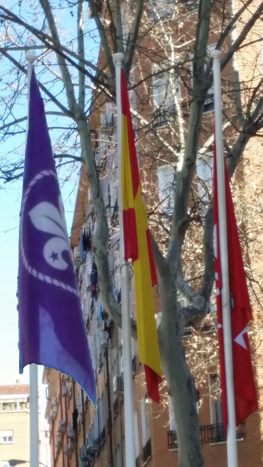 Día Mundial del  Pensamiento Scout en la Junta de distrito de Retiro