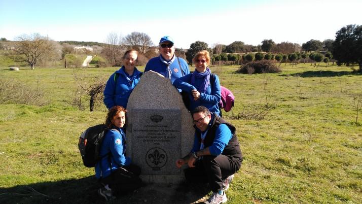 Día Mundial del Pensamiento Scout en El Pardo
