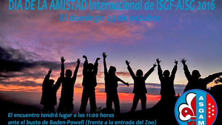 DÍA DE LA AMISTAD internacional de ISGF-AISG 2016