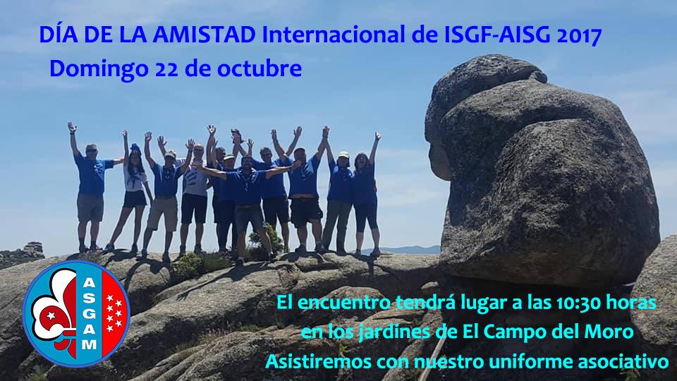 CONMEMORACION DEL DÍA DE LA AMISTAD INTERNACIONAL DE ISGF-AISG 2017