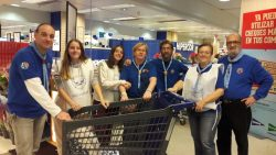 Participación de ASGAM en la Gran Recogida de Alimentos en Madrid