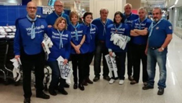 Participación de ASGAM en la Gran Recogida de Alimentos en Madrid 2018