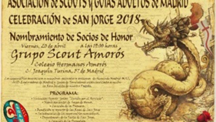Celebración de San Jorge 2018: Nombramiento de Socios de Honor