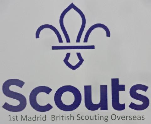 EXPO SCOUT EN APOYO AL GRUPO 1st MADRID BRITISH