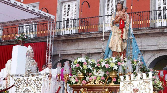 Celebración de la festividad de laVirgen de laAlmudena